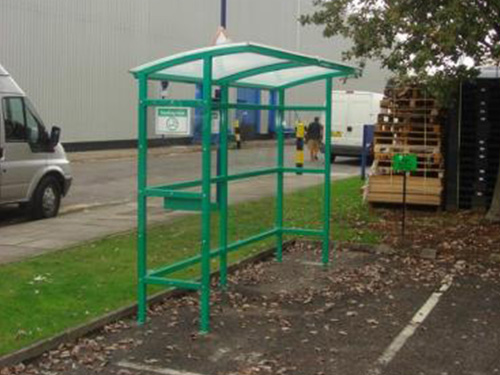 Half Smoking Shelters