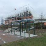 stadium of light smoking shelters